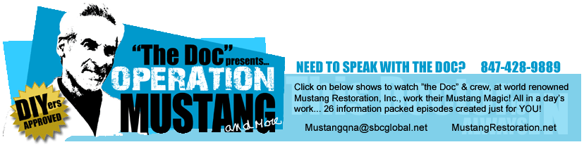OPERATION MUSTANG WEB SHOW