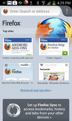 Download firefox untuk android gingerbread