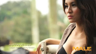 Video Seksi Model dan Presenter Chantal Dela Conceta