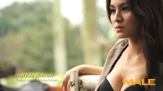 hot Video Seksi Model dan Presenter Chantal Dela Conceta