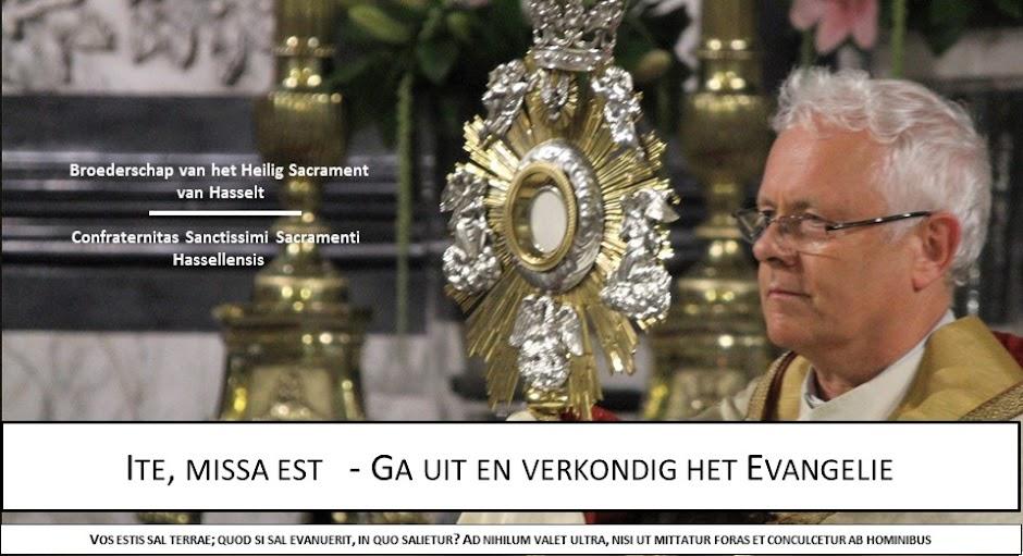 Broederschap van het Heilig Sacrament van Hasselt