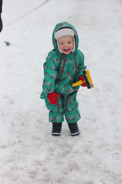 Joules snowsuit