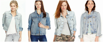 Old Navy Denim Jacket $28.00 (regular $32.94)  Lucky Brand Boyfriend Denim Jacket $49.18 (regular $99.00)  Kut from the Kloth Denim Jacket $55.99 (regular $79.00)  Maison Jules Denim Jacket $59.99 (regular $79.50)