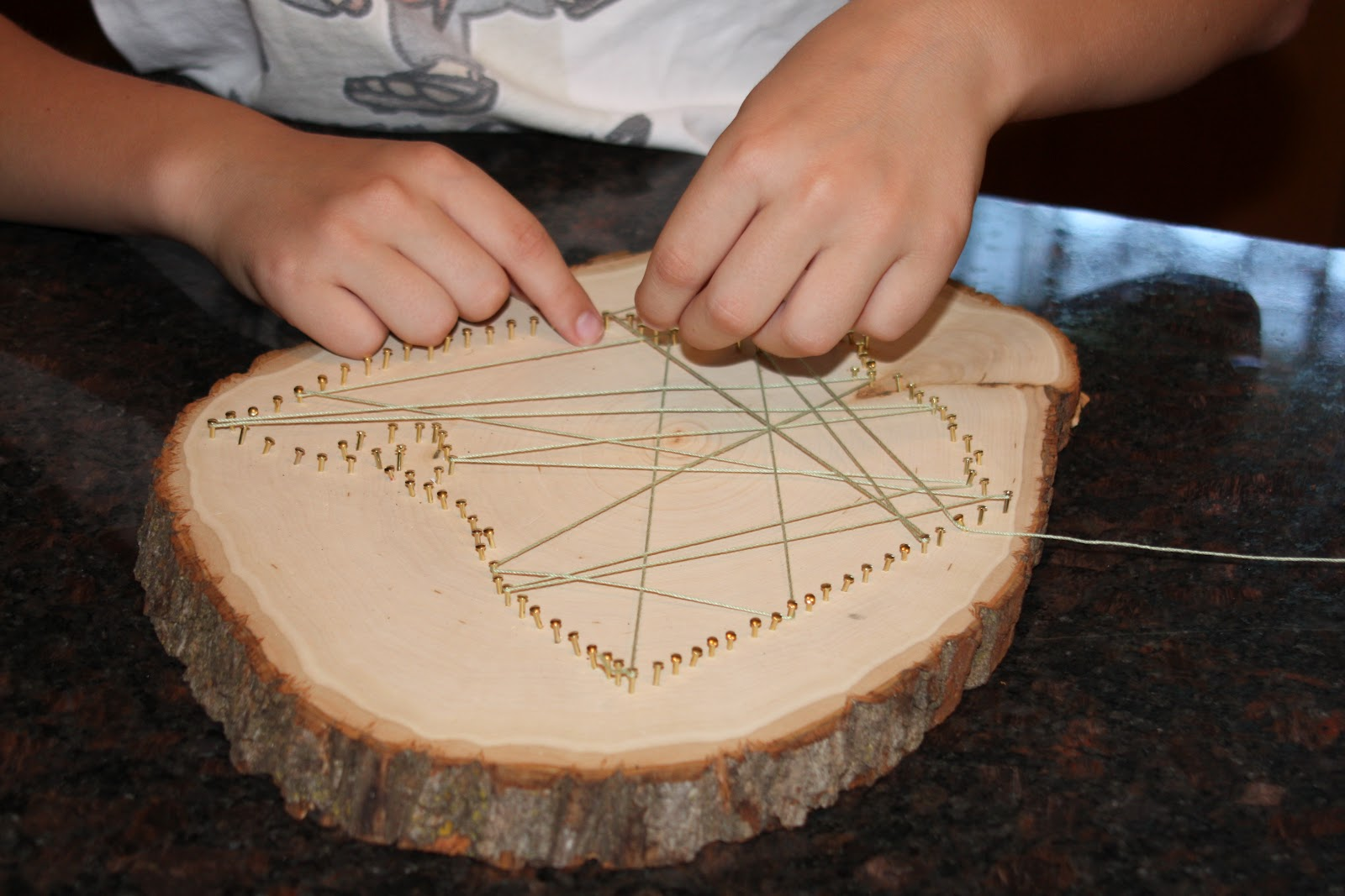 How To Do String Art Feel Lovd Everyday What I Made Wednesday My Hometown String Art