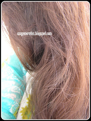 Garnier Color Natural - 5 1/2 Creamy Coffee in sunlight -Result