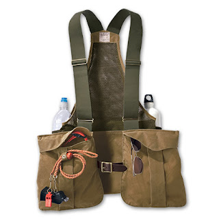 Filson mesh game bag strap vest