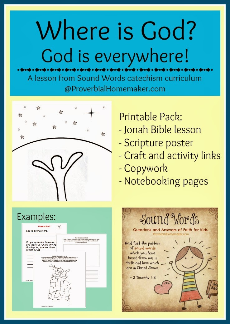 Bible Lesson: Where is God? (Sound Words Catechism)