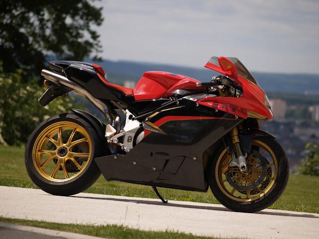 10 Fastest Motorbikes 2012 - F4 Tamburini