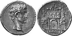 La moneta fiat emessa dall'imperatore romano Augusto permise a Roma un aumento degli scambi commerciali sui territori dell'impero mai vista prima