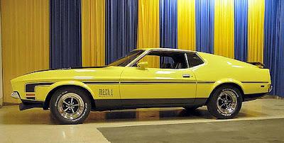 Mustang Mach-I 1973