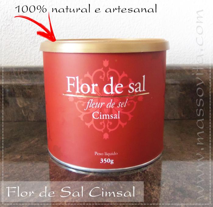 Cimsal Flor de sal natural