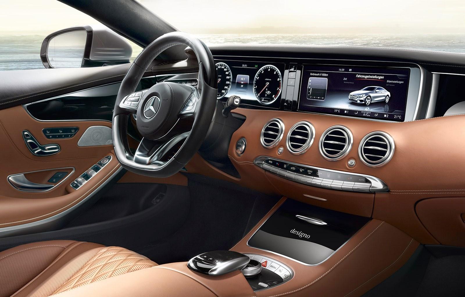 2016 ford mustang interior u s news amp world report - 2015 Mercedesbenz Sclass Us News Amp World Report