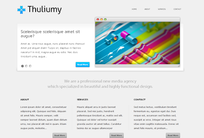 Thuliumy Wordpress Theme