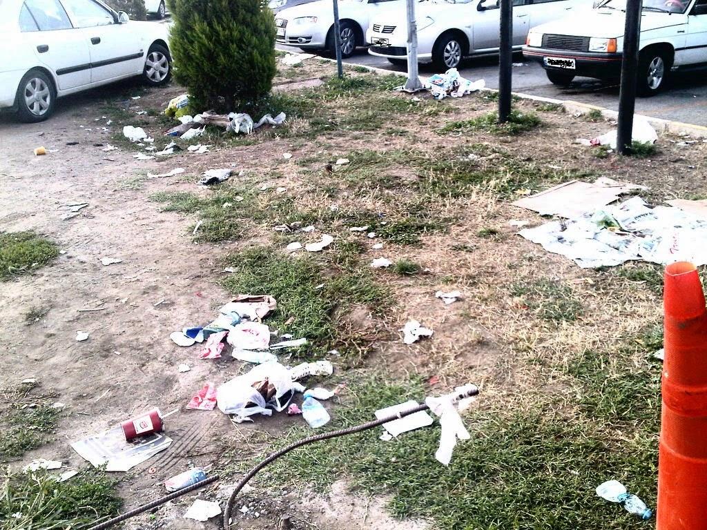 İstanbul Ankara arasında çöpe dönen dinlenme tesisleri