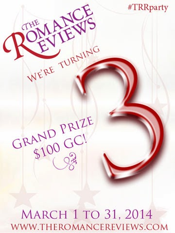 The Romance Reviews 3rd Anniversary!