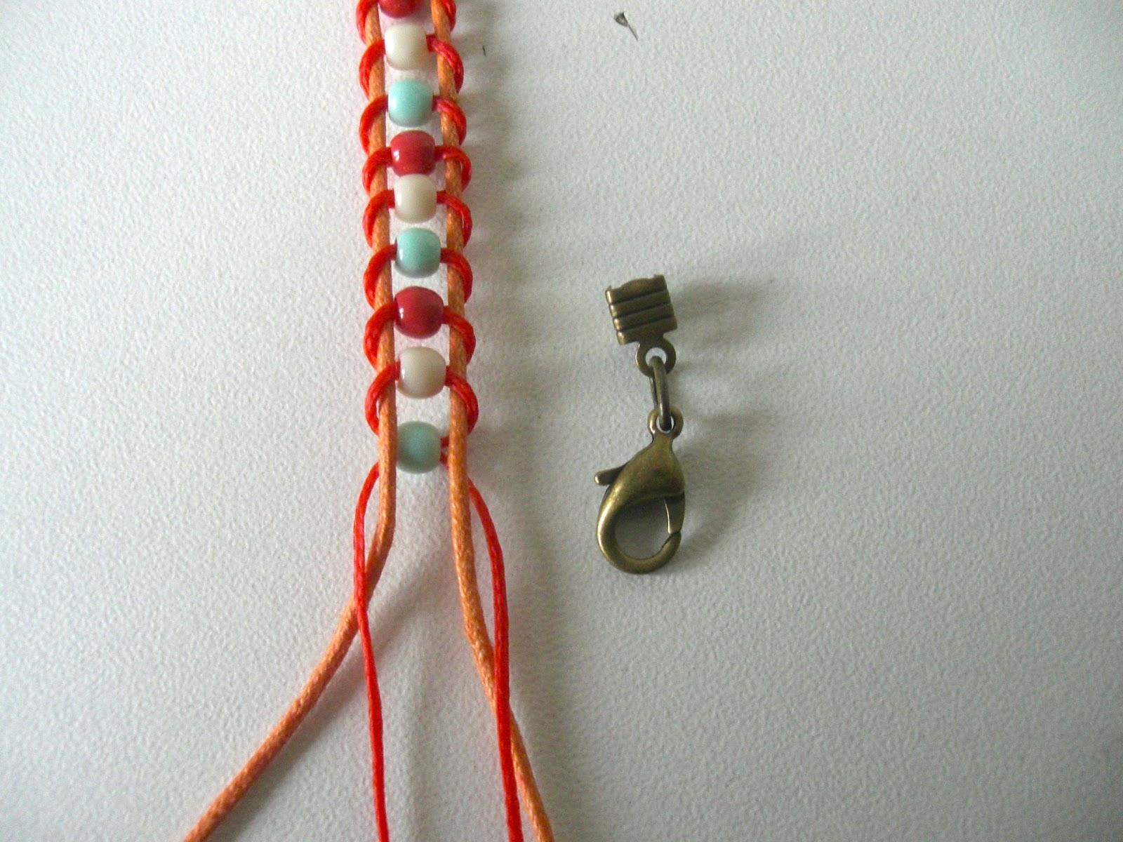 Connu Tuto bracelet coton - precious box BP82
