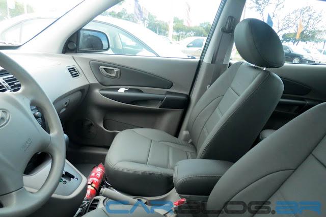 Tucson Hyundai Flex Automática 2013 - interior