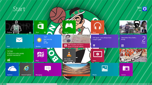 Boston Celtics Theme For Windows 7 And 8