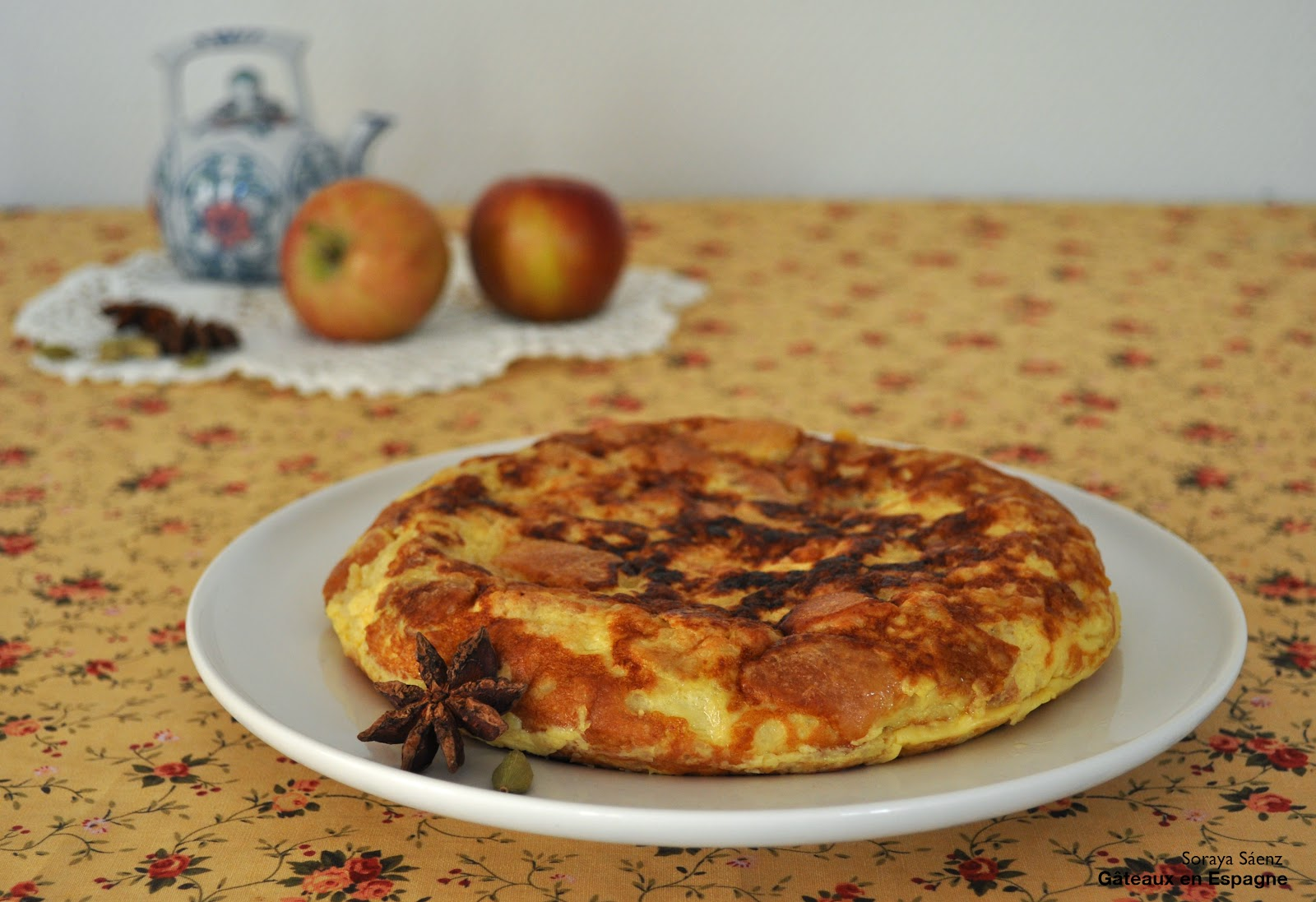 omelette espagnole tortilla recette