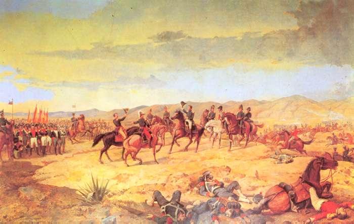La Batalla de Ayacucho, donde Castilla tuvo una destacada actuación, al punto de ser mencionado por Sucre en el parte respectivo, juzgándolo ¡muy digno de una distinción singular!