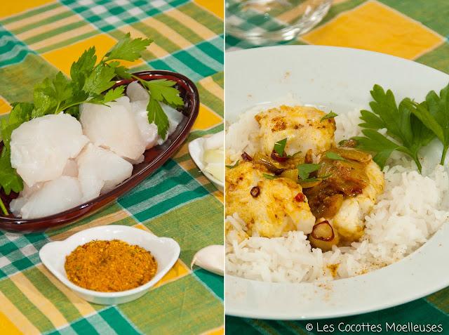 recette cuisine poisson curry