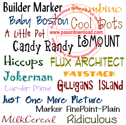 Download Font Collection 2014