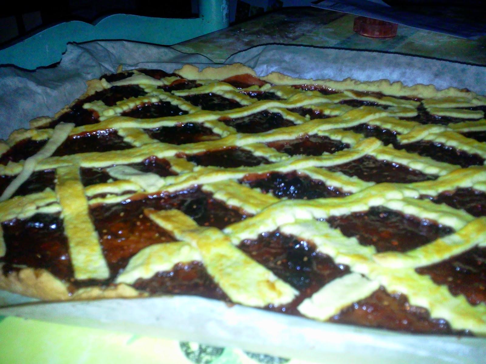 tartelettes de Linz tartes recette pâtisserie confiture mûres framboises
