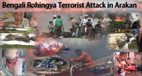 Bengali Rohingya Terrorist Attack in Arakan, June 2012