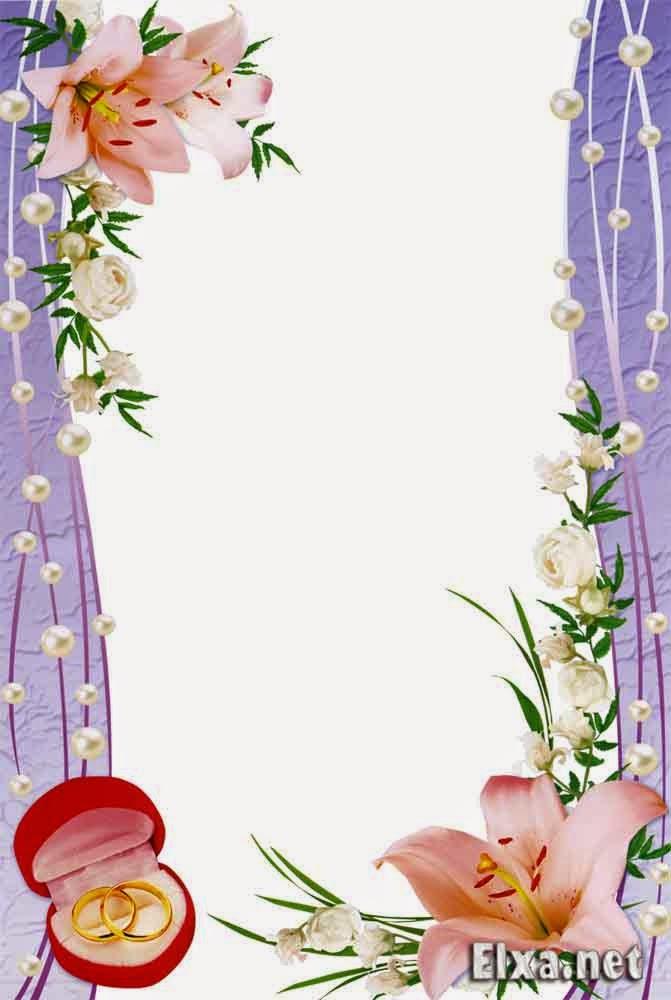Рамки для поздравление со свадьбой 42