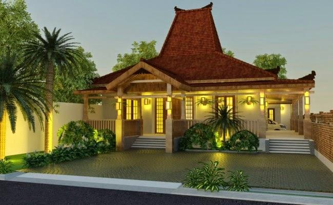 Gambar Desain Rumah Klasik Jawa Modern Minimalis Terbaru