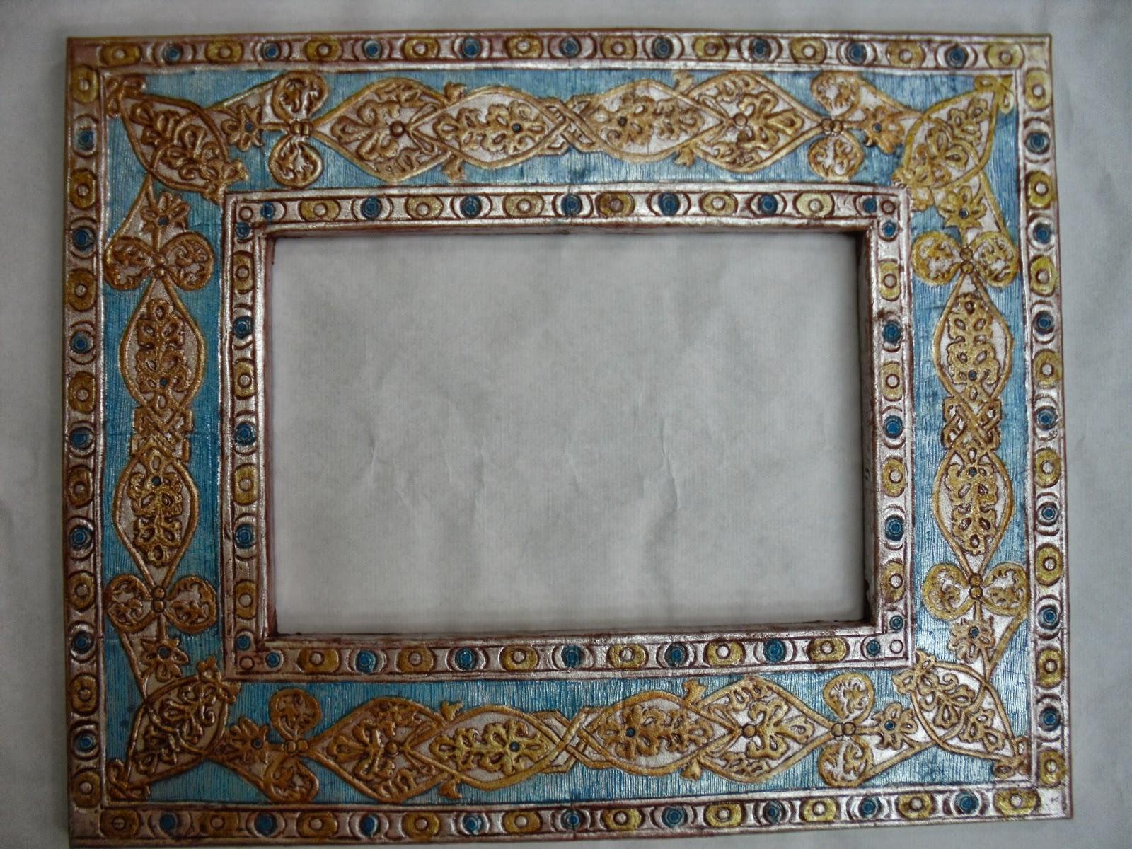 guadameci marco de espejo y cofre de boda