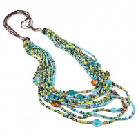 World Vision 2015 Gift Catalog Hand crafted Balinese Multi-Strand Necklace