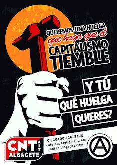 Queremos una Huelga que haga que el Capitalismo tiembre