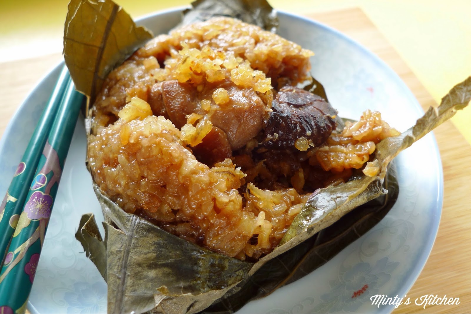 Minty S Kitchen Glutinous Rice Wrapped In Lotus Leaf Lo