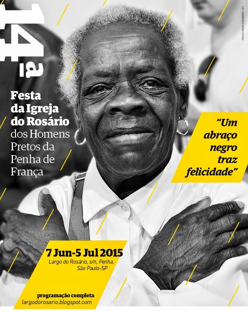 Festa do Rosário 2015 - PROGRAMAÇÃO