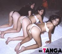 3 chicas cuando eran unas pendejas en tanga