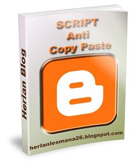 Script Anti Copy Paste  - Herlan Blog