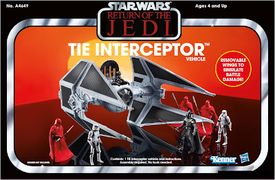 Hasbro Star Wars Vintage Collection TIE Interceptor vehicle - exclusive