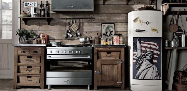 La decoraci n vintage e industrial de dialma brown - Decoracion vintage industrial ...