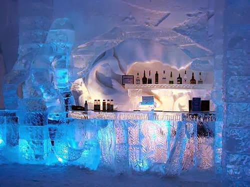 ice hotel sweden wallpapers wallpaper view. Black Bedroom Furniture Sets. Home Design Ideas