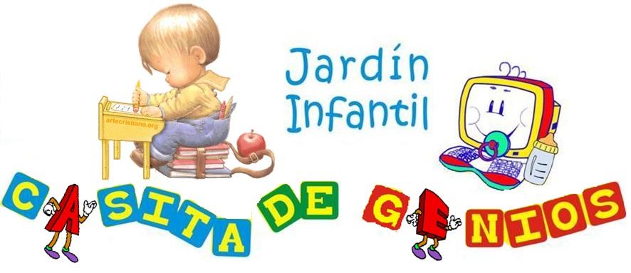 Jardin infantil casita de genios for Casita infantil jardin