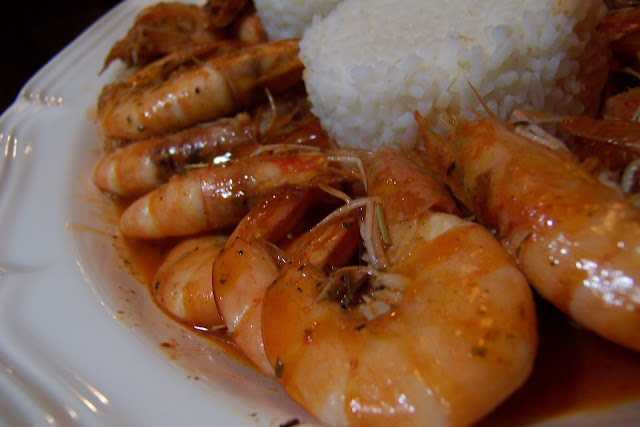 New Orleans' Style Barbecued Shrimp | 4 Scoops & Stir