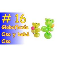 Oso y bebé Oso - Aprende Globoflexía