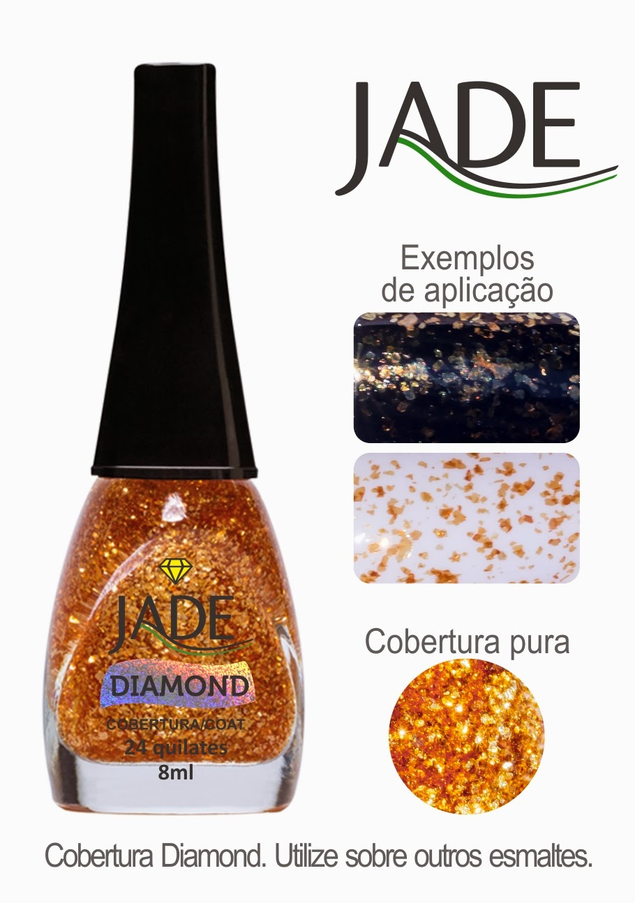 Esmaltes Jade Coleção Joias Líquidas