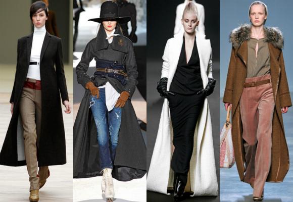 Como se llaman los abrigos largos