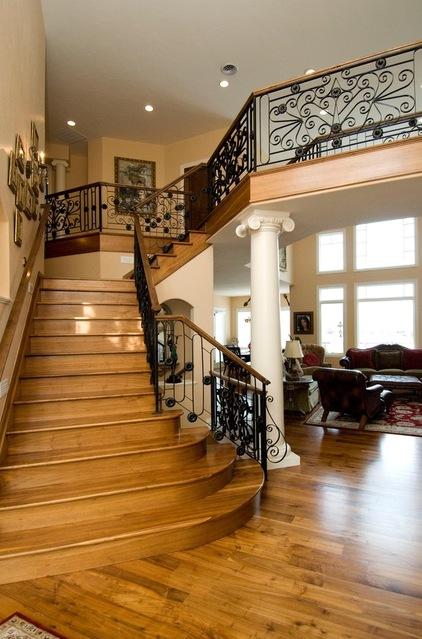 Reka Bentuk Tangga Klasik   Bayani Home Renovation
