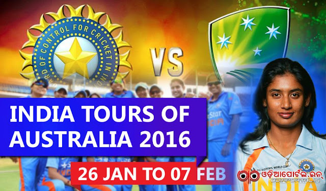 Cricket: India Women Tour of Australia 2016 Series Full Schedule (Jan 26 - Feb 07) 3 one day matches 3 twenty20 starting from 26 January 2016 to 07 february Star Sports India broadcast Perth, Western Australia Brisbane Cricket Ground Melbourne Cricket Ground Manuka Oval, Canberra Sydney Cricket Ground india australia squad, fixtures time table pdf download event Bellerive Oval, Hobart