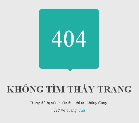 Hướng dẫn tạo trang 404 hiển thị đầy đủ cho Blogger