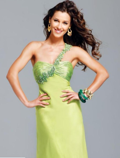 Wedding Dresses: One-shoulder prom dress——the first choice for 2012 prom