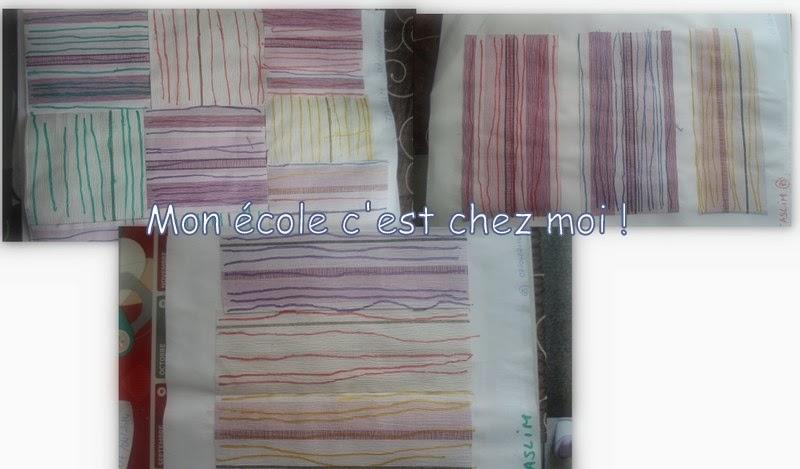 Lignes horizontales agrandissent ou rétrécissent une pièce  - Papier Peint Ligne Horizontale